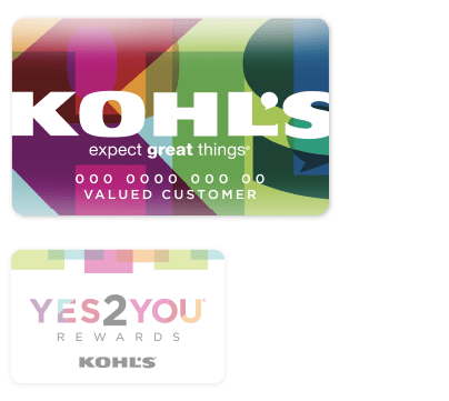 Kohl's Charge and Yes 2 You Rewards Cards